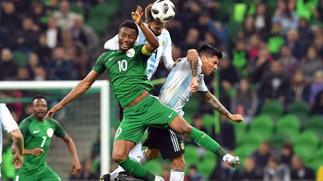 Selección de Nigeria Contra la Argentina