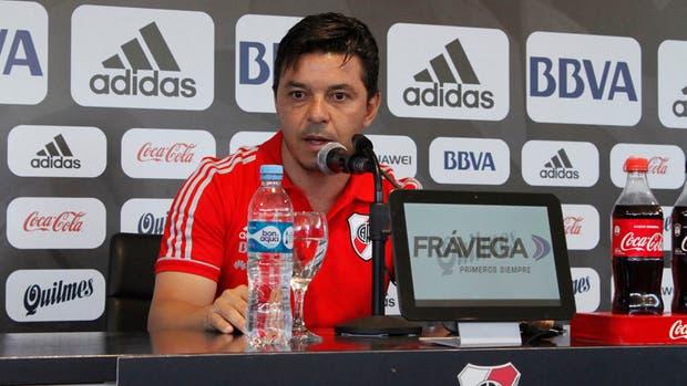 Gallardo confirmó que qiuere seguir en River para 2018