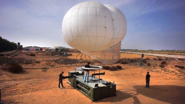 El sistema de vigilancia con globos aerostáticos que operará en la frontera Norte