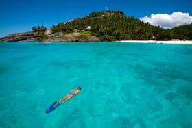 La Presidenta estuvo durante unas horas en Seychelles en enero de 2013.