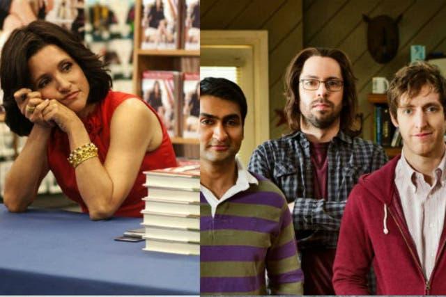 Veep y Silicon Valley, grandes comedias nominadas
