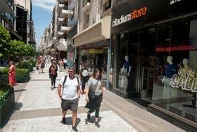 Más oferta de ropa; se multiplicaron los locales.