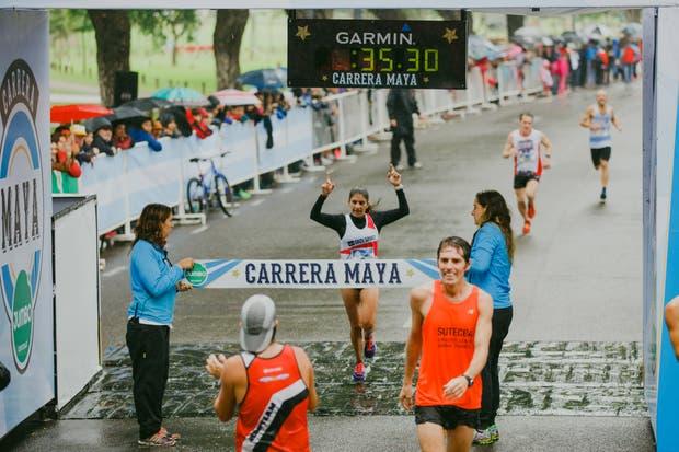 Daiana Ocampo, la mujer más rápida