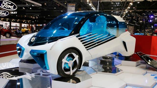 Toyota mostró el FCV Plus
