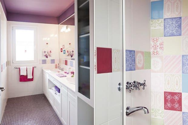 Ideas para decorar tu baño con color   living   espacio living