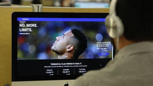 Una nueva manera de ver deportes a través de internet, el desarrollo que propone el argentino Matías Said con Sportflix