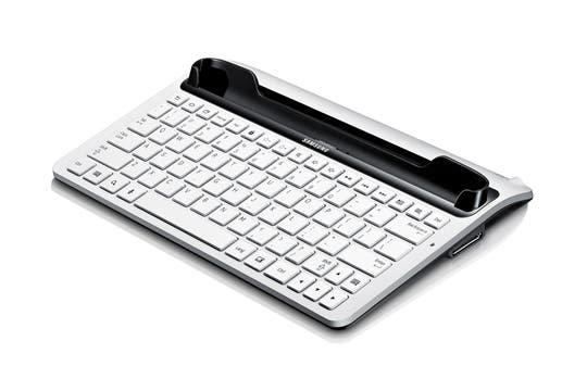 Samsung posee dos teclados con conexión por dock para la Samsung Galaxy Tab 2 de 7 y 10 pulgadas. Foto: Gentileza Samsung