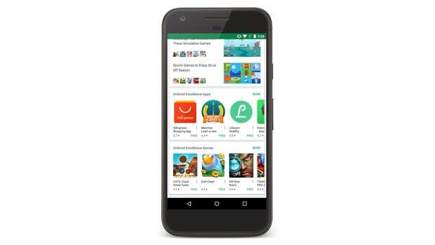 Una nueva sección en la tienda de Google destaca lo mejor de Android