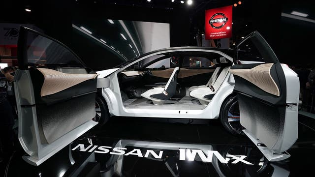 El Nissan IMx, un auto eléctrico y autónomo