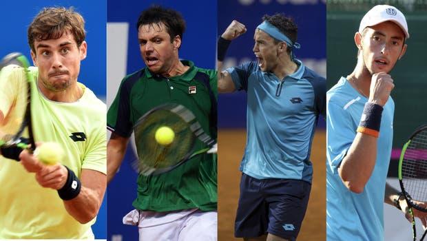 Pella, Zeballos, Kicker y Tirante, cuatro atracciones