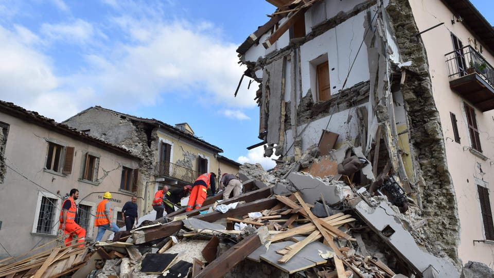 VIDEO: Terremoto en Italia