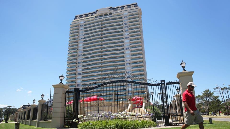 Le Jardin, una de las torres modernas que desembarcó en el Este para crear un paisaje que se compara con el de Miami en la zona de La Mansa