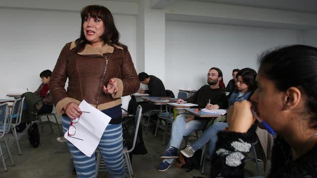 Claudia Vásquez Haro es profesora universitaria