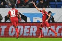 Video: los dos gritos de Lucas Alario en la goleada de Bayer Leverkusen sobre Hoffenheim