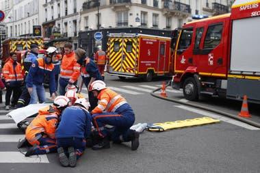 Cinco personas están en estado crítico y otras siete están heridas de gravedad