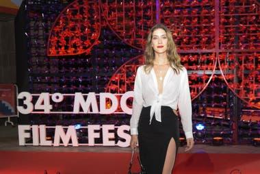 La actriz Clara Alonso, presente en el Festival de Cine de Mar del Plata