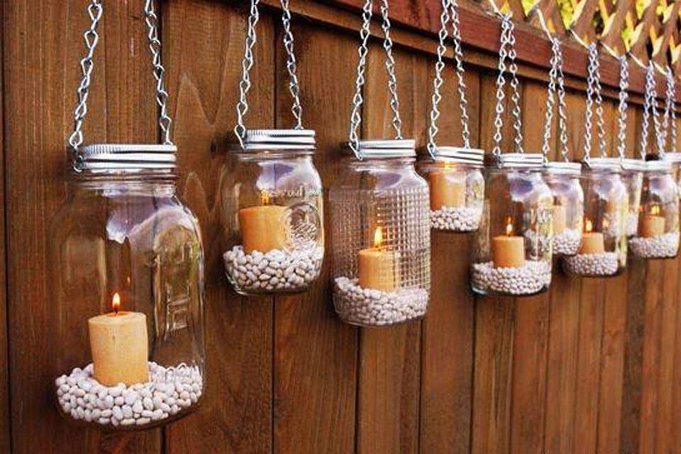 Propuestas caseras para decorar tu jardín