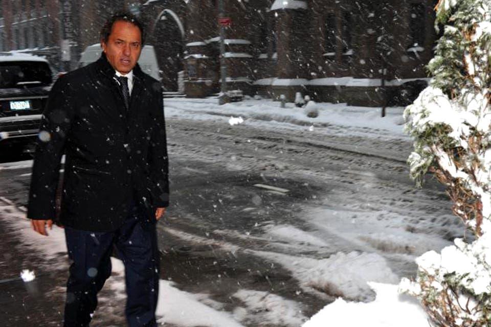 Daniel Scioli volvió a reunirse con inversores en Nueva York