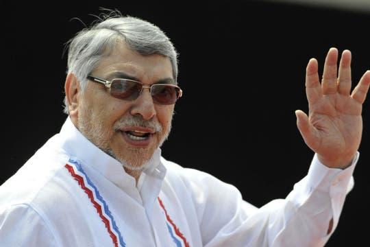 El presidente de Paraguay, Fernando Lugo. Foto: EFE