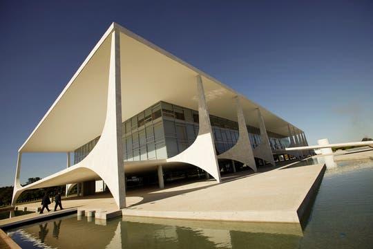 Una vista del edificio Planalto. Foto: Archivo