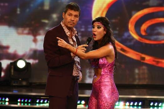 Andrea Rincón, quien protagonizó momentos muy escandalosos: 58 de puntaje máximo con el Stripdance; y 31, con el Pop latino. Foto: Ideas del Sur