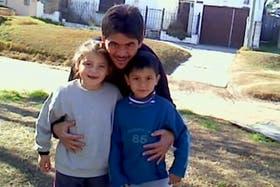 Fidel Castro con sus dos hijos, uno de ellos Alejo Fidel Castro