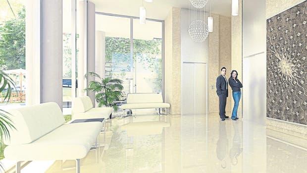 Se trata de 16 pisos distribuidos en 29 departamentos de 73 a 265 m2