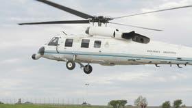 Un avión pasó muy cerca del helicóptero presidencial