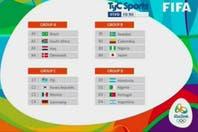 Juegos Olímpicos Río de Janeiro 2016: se sortearon los grupos del fútbol y la selección argentina ya conoce a sus rivales