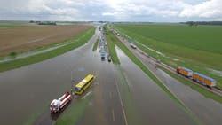 En fotos: impactantes imágenes de las inundaciones en Santa Fe