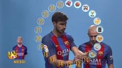 Messi cumple 30 años: sus compañeros lo definieron con emojis y cómo jugaba de chico