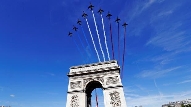 Hoy en Francia es la fiesta nacional de la toma de la Bastilla