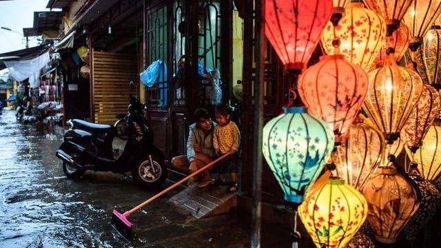 En Vietnam también se han producido fuertes inundaciones en los últimos días.