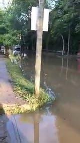 Las calles de Tigre y alrededores están inundadas por la sudestada