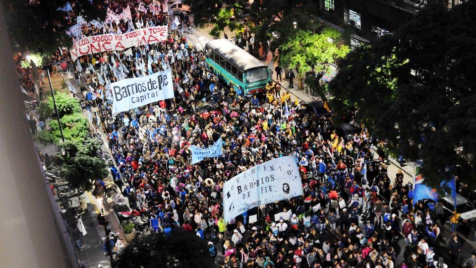 Marcha No al 2x1. Foto: DyN / Carlos Greco