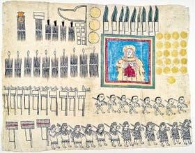 Un códex azteca del año 1531