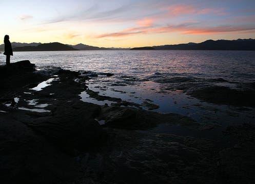A orillas del Nahuel Huapi. Foto: Gentileza Emily Anne Epstein