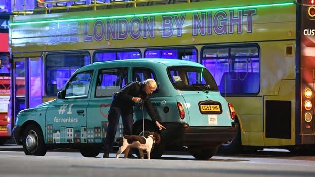Varios ataques se registraron en Londres. Foto: DPA