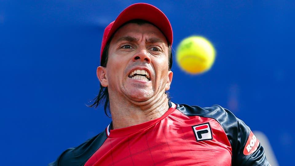 Carlos Berlocq Vs Kei Nishikori. Foto: AP / Agustin Mascarian