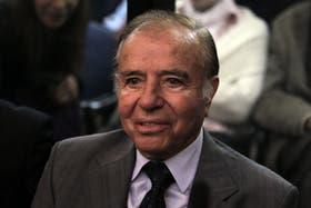 El ex presidente y actual senador, Carlos Menem, condenado por la Cámara de Casación