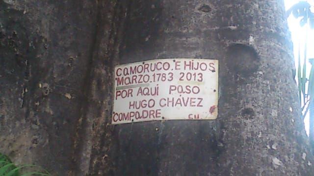 Así era Sabaneta, el pueblo al que Hugo Chávez llamaba hogar, antes de la crisis en Venezuela. Foto: Cristina Mahne
