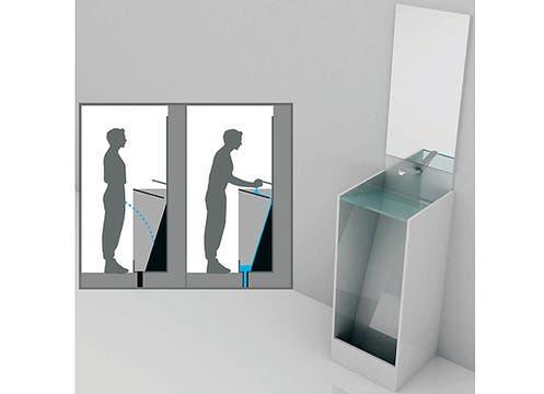 Mingitorio lavatorio: un artefacto ideal para no perder el tiempo en el baño. Foto: http://www.bemlegaus.com