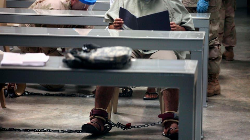 """El """"submarino"""", la privación de sueño, la humillación sexual y la alimentación forzada fueron algunos de los métodos de tortura utilizados en Guantánamo. Foto: Archivo"""