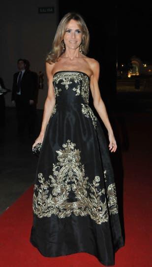 Rosella della Giovampaola, siempre entre las mejores vestidas. Foto: Gerardo Viercovich