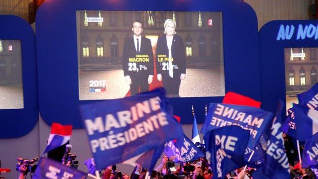 Macron y Le Pen son los favoritos para la segunda vuelta