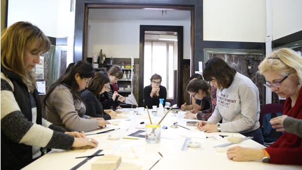 La capacitación se dictó en la Biblioteca Esteban Echeverría de la Legislatura