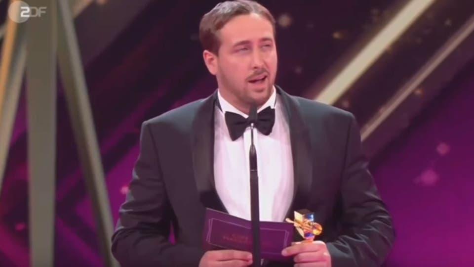El falso Gosling en el escenario