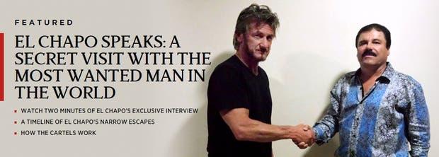 El actor Sean Penn junto al