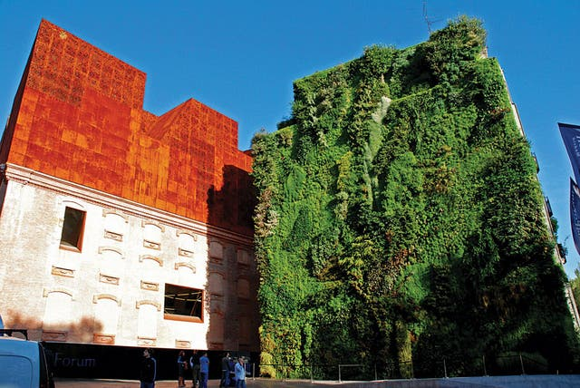 Caixa Forum de Madrid, arq. Herzog & Meuron