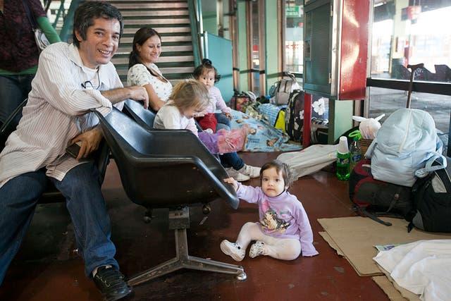 La familia de Ramona viaja a Oberá, Misiones